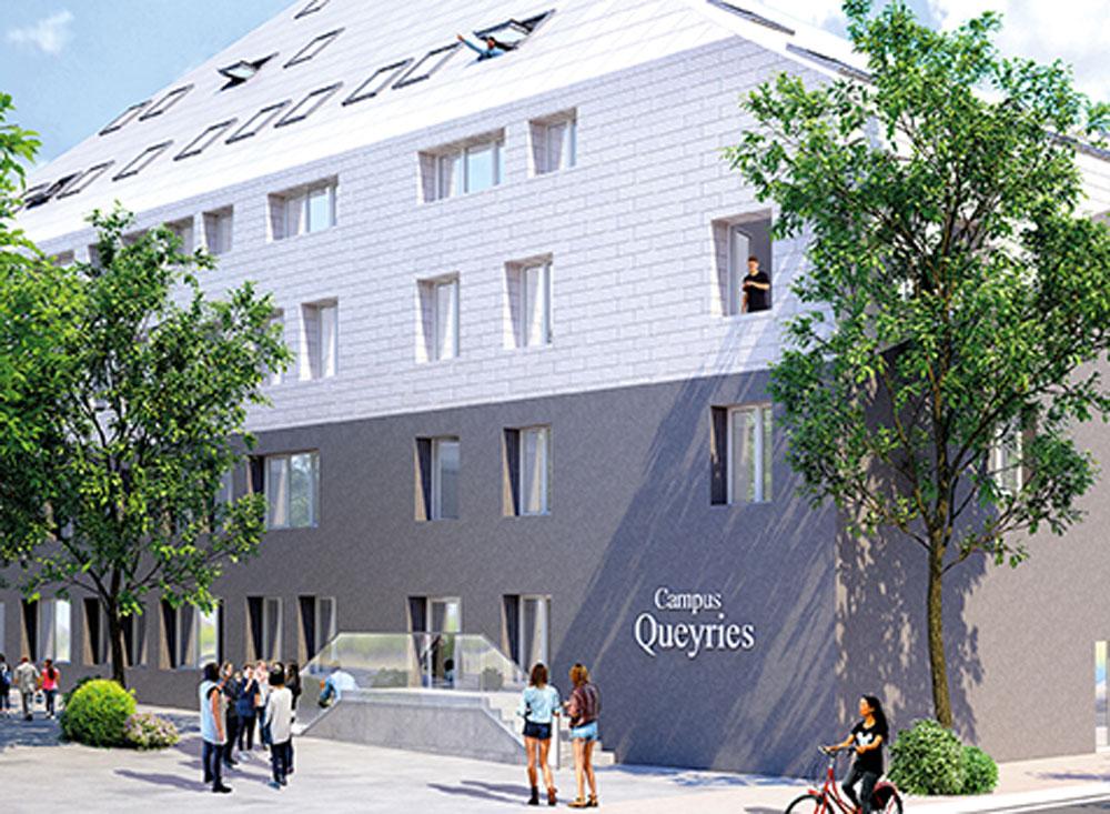 Campus Queyries A Programme Neuf Bordeaux