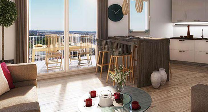 cit o programme neuf caen. Black Bedroom Furniture Sets. Home Design Ideas